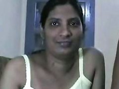 Naughty Amateur Indian Wifey And Her Hubby Undress On Webcam